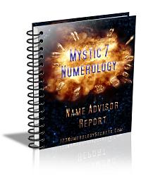 Numerology Name Advisor Report